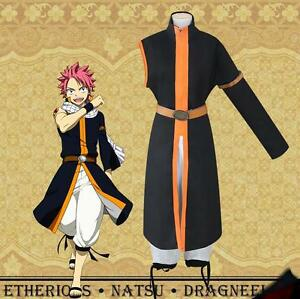 Japanese-Anime-Fairy-Tail-Natsu-Dragneel-Cosplay-Costume-Coat-Halloween-Mens