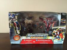TRANSFORMERS ENERGON PROWL WITH LONGARM & STARSCREAM WITH ZAPMASTER NIB