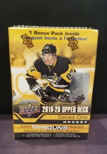 2019-20-Upper-Deck-Series-1-Hockey-NEW-Factory-Sealed-Blaster-Box-YOUNG-GUN-RC