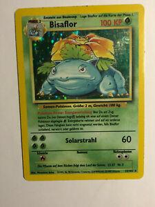 Pokemon Card Holo BISAFLOR 15/102 Base Set