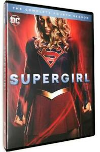 SUPERGIRL-COMPLETE-SEASON-4-4TH-FOUR-DVD-Shipping-Free