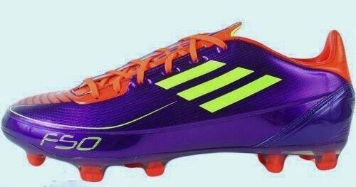 b4fbac629 ... ADIDAS F30 AdiZero TRX FG FG FG Purple Red Yellow Soccer Cleats NEW  Mens Sz 13 ...
