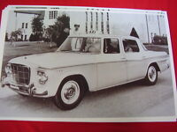 1963 Studebaker Lark Taxi Cab Big 11 X 17 Photo Picture