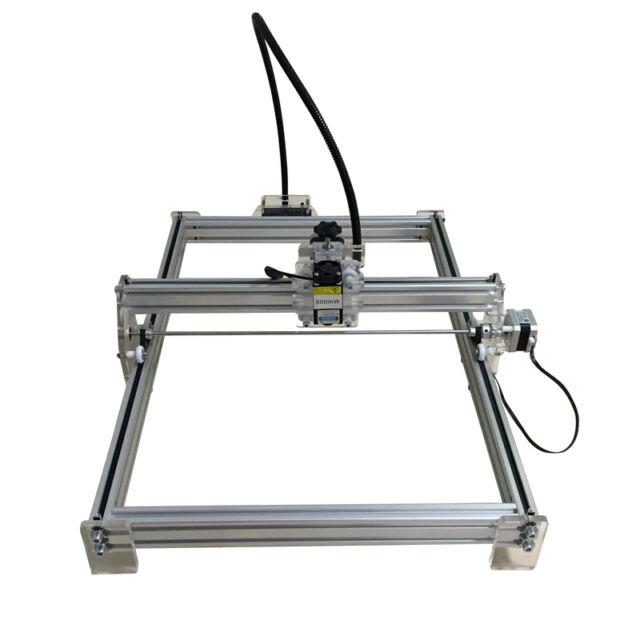 7000mW USB CNC Laser Engraver Metal Marking Machine Wood Cutter 50x35cm DIY Kit