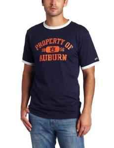 7ec86cd98eb8 Auburn Tigers Navy & Orange w/ White Trim T-Shirt Men Guys Fan ...