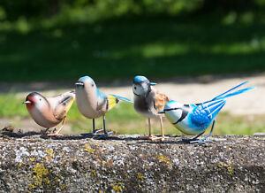 Small-British-Bird-Metal-Garden-Ornament-Outdoor-Decoration-Figurine-Sculpture