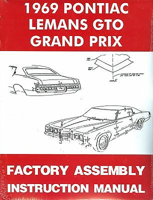 Other Car Manuals Vehicle Parts & Accessories 1969 69 GTO ... on 69 ford torino wiring diagram, 69 dodge dart wiring diagram, 69 dodge charger wiring diagram,