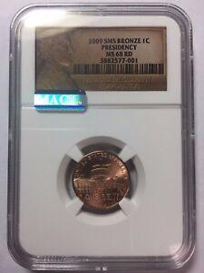 2009-SMS-Bronze-Cent-Presidency-MS-68-RD-SKU-5020