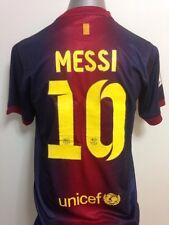 2012-13 Barcelona Messi #10 Home Jersey + Short Size L (Argentina)