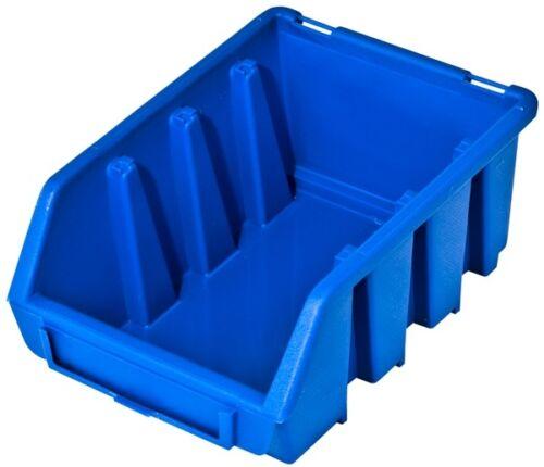 Camp Boxe vue Camp encadré avec couvercle sichtbox Lot Boxe ergobox Bleu