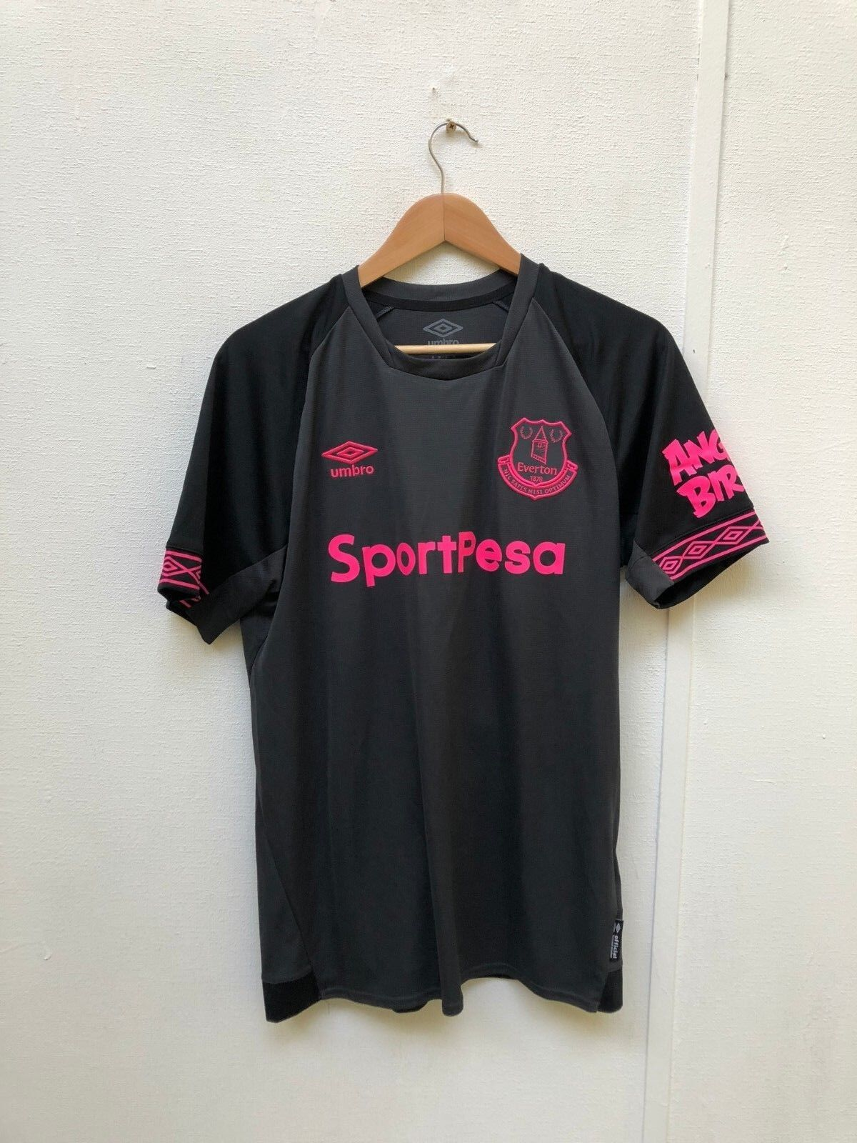 Everdeon FC Umbro Da Uomo 201819 away shirtMediumricharlison 30NUOVO