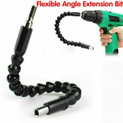 Bohrmaschine /& Schraubenzieher Flexibel ED 2stk Winkelaufsatz Für Akkuschrauber