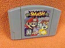 Super Smash Bros. Mario 64 *Authentic* Nintendo 64 N64 Game Super FREE SHIP!