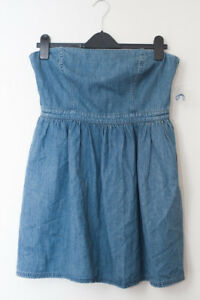 Strapless Dress Free Denim People Dress Free People Denim Free Strapless 7Zwqxg
