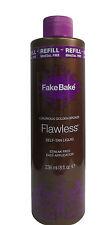 Fake Bake Flawless Self Tan Liquid Refill 8 oz -236 ml Pack of 3