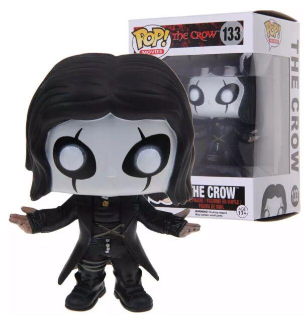 POP Movies Horror Vinyl Figure The Crow Eric Draven #133 WB Funko