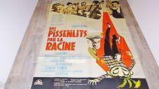 louis de funes DES PISSENLITS PAR LA RACINE  !  lautner  affiche cinema 1963