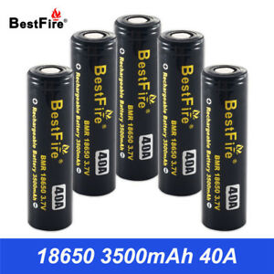 Image Is Loading High Quality Bestfire 18650 Battery 3 7v 3500mah