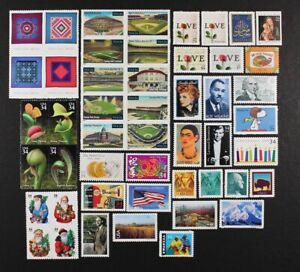 US-2001-Commemorative-Year-Set-of-96-stamps-incl-4-Sheets-Mint-NH-see-scans