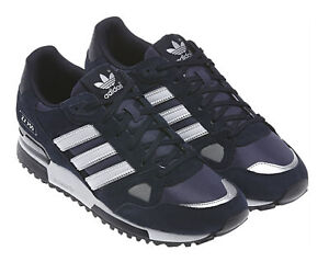 huge selection of ae2ad d3bd8 adidas ZX 750 Fashion Men s Shoes, Size 9 - Navy Blue White for sale ...