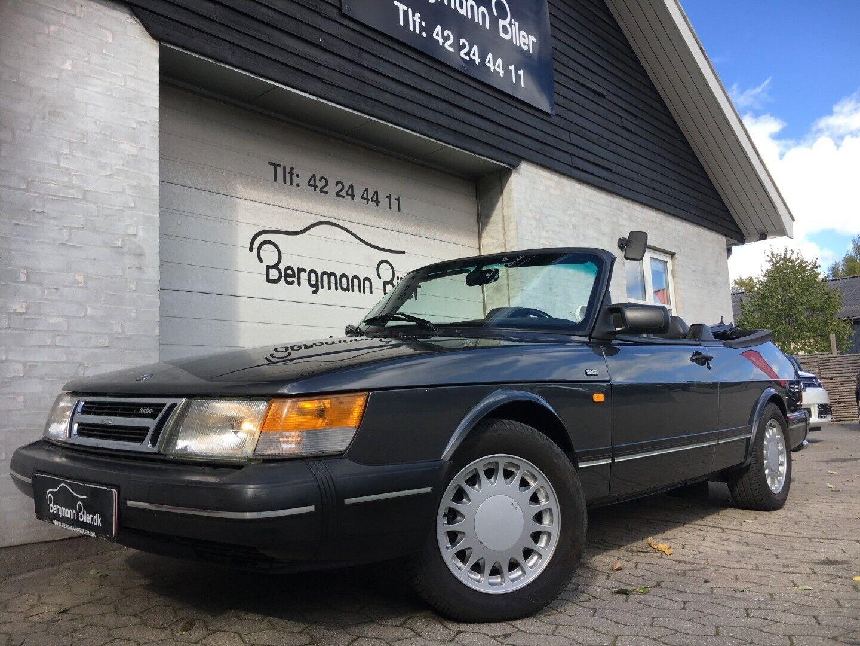 Saab 900 2,0 Turbo-16 Cabriolet aut. 2d