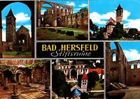 Bad Hersfeld , Stiftsruine , Ansichtskarte, ungelaufen
