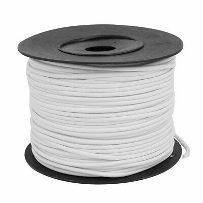uxcell PVC Machine Wire Organize Marking Tube Sleeve Cable Markers 2mm Inner Dia White