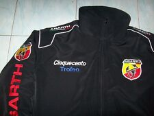 NEU ABARTH Cinquecento Trofeo Fan- Jacke schwarz jacket veste jas giacca jakka