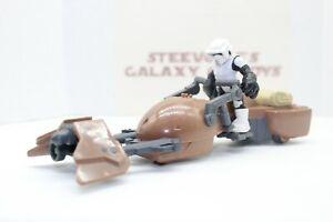 Playskool Star Wars Galactic Heroes Endor Speeder Bike Scout Trooper
