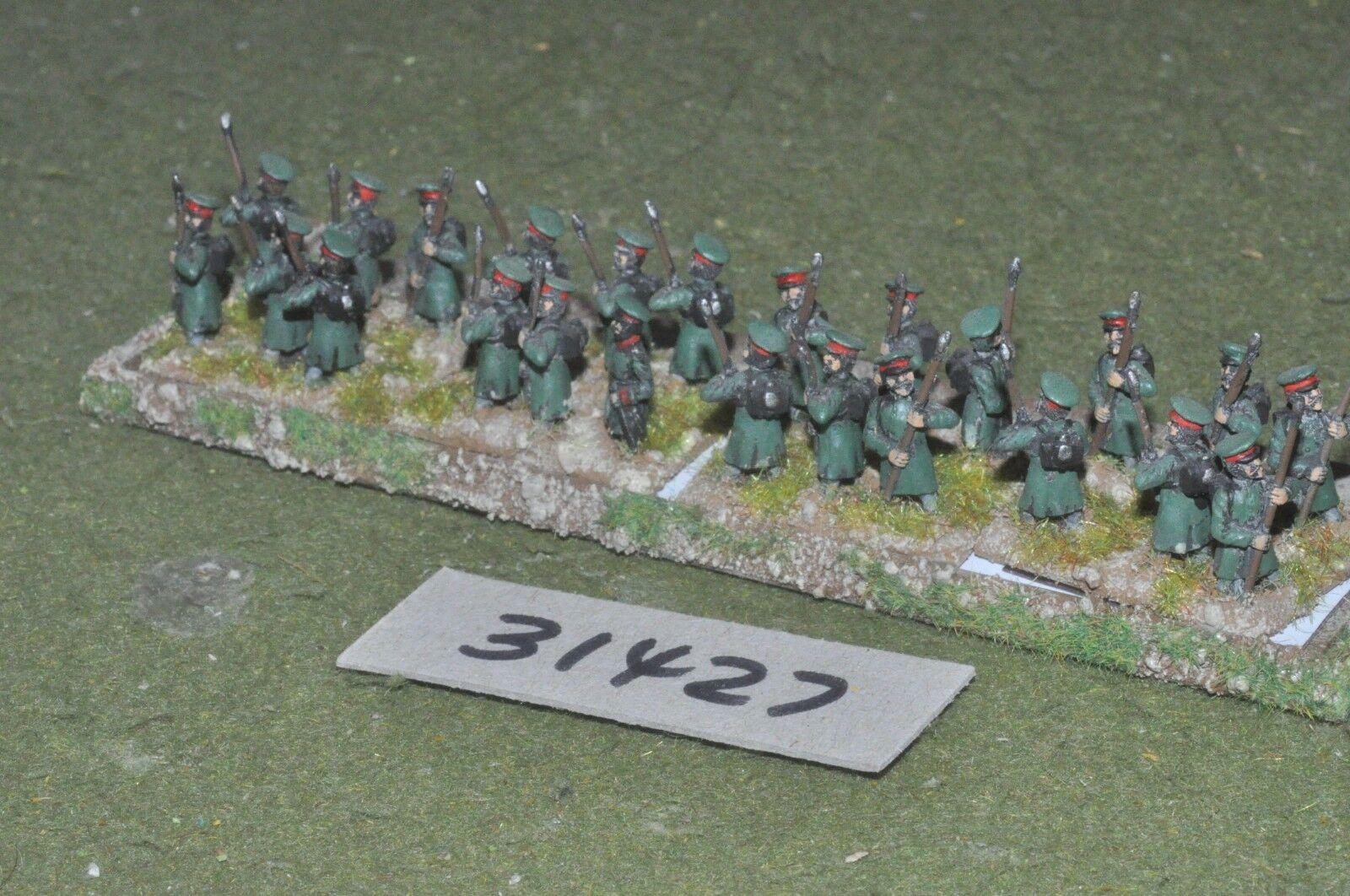 15mm napoleonic   russian - militia 24 figures - inf (31427)