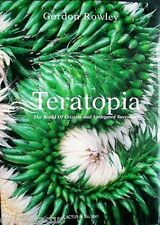Teratopia: The World of Cristate and Variegated Succulents Cactus Book NEW!