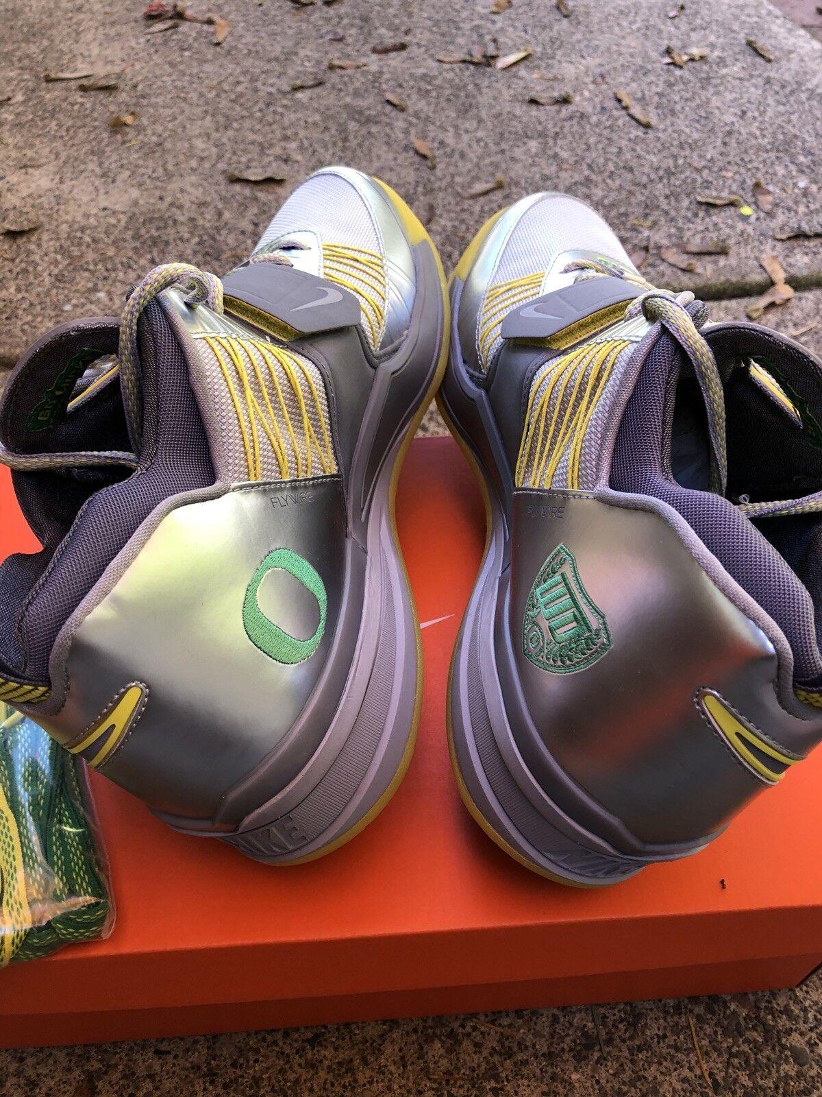 Nike air zoom revis oregon ducks pe qs trainer sz 12 s