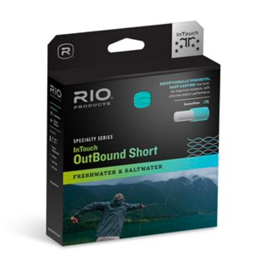 RIO INTOUCH IN TOUCH COLDWATER OUTBOUND SHORT 330 GR WF8IS6 SINre FLY LINE