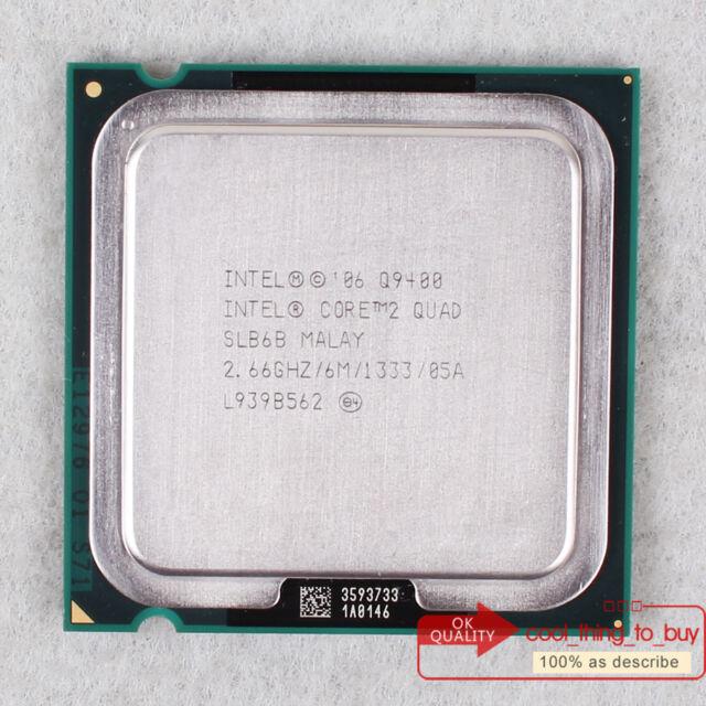 UK-Free ship Intel Core 2 Quad 2.66GHz 6MB 1333MHz Q9400 SLB6B CPU Processor 775