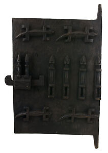 Porta Dogon Loft Mali 64x38 CM Persiane Arte Africano West Africa 16524 Hg 1