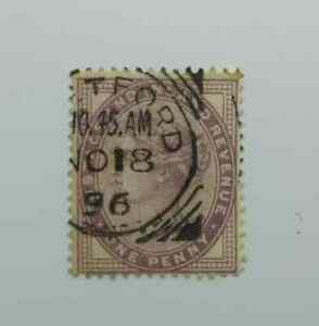 Great-Britain-QV-1881-1d-One-Penny-SG172-Used-BN140