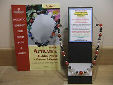 """The HEALER 18"""" Esoteric Gemstone Necklace plus a Matching Power Bracelet & book."""