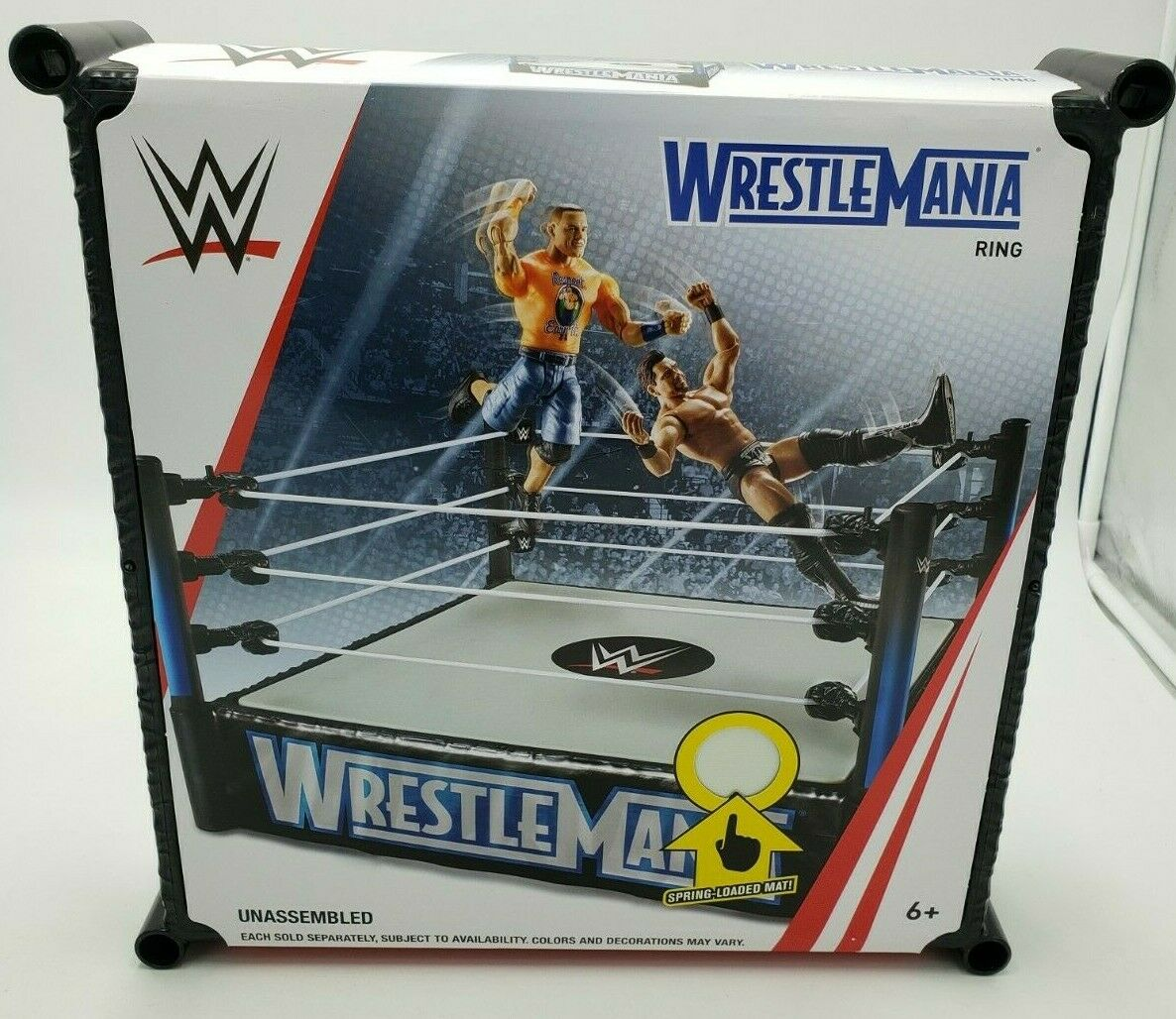 Legends of Wrestling Action Figure Series Wrestling Ring Mat
