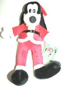 Macys 2020 Christmas Stuffed Animal Disney's 1992 Macy's Exclusive Goofy Santa Christmas Plush