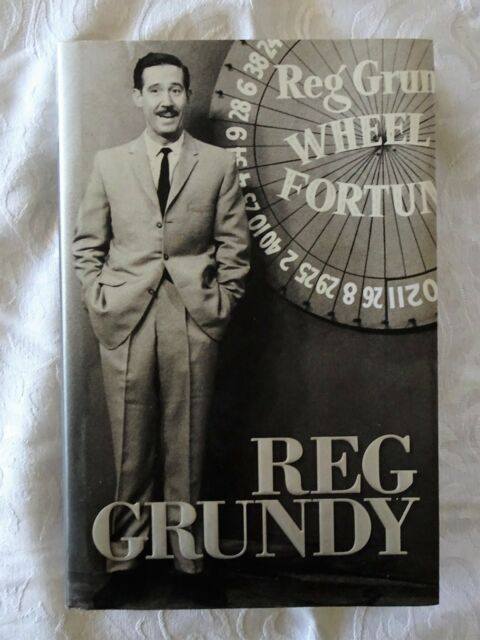 Reg Grundy by Reg Grundy | Australian TV Broadcasting | HC/DJ