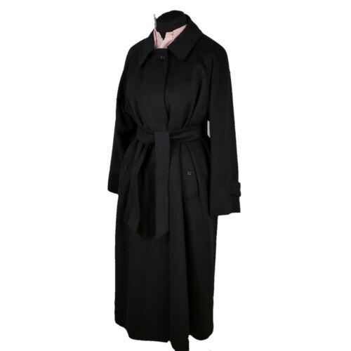 Burberry Vintage Overcoat Coat Extra Long Belted C