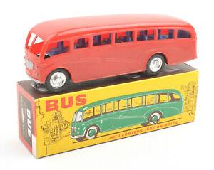 Vintage-Mak-039-s-Hong-Kong-Plastic-Friction-Bus-No-2006-BOXED