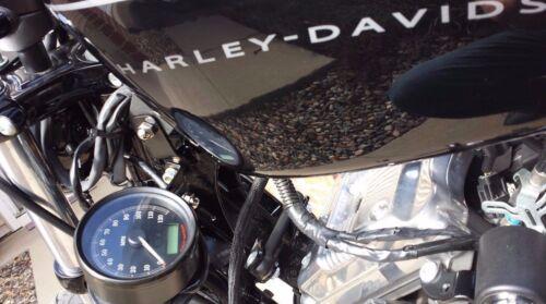 ♤ Harley Davidson Sportster BOBBER BRACKET Speedometer Gauge Relocation Kit ♧
