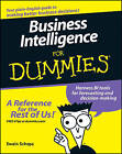 Business Intelligence For Dummies by Swain Scheps, Alan R. Simon (Paperback, 2008)