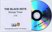 THE BLACK KEYS Strange Times 2008 UK 1-track promo test CD