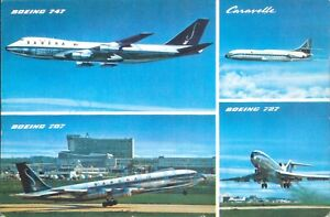 Sabena Belgian World Airlines IATA Boeing & caravelle