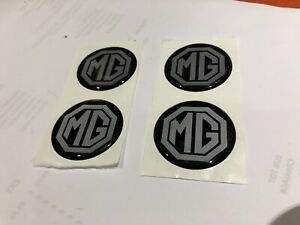 Mg-quality-resin-badges-40mm-Black-silver-minilite-Mgb-gt-BD8-D2-G