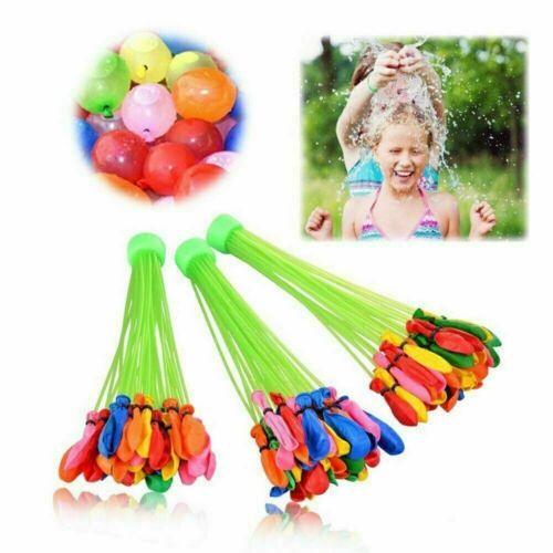 555 Magic Water Balloons Self Tying Fast Fill Bombs Summer Kids Fun Toys