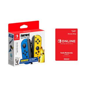 Nintendo Switch Joy-Con Fortnite Fleet Force Bundle + Nintendo Online 12 Month