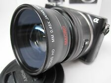Ultra Wide Angle Macro Lens for Sony Nex 6 5t 3n 3 5 7 5000 5100 6000 6100 16mm